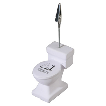 Toilet Stress Reliever Memo Holder